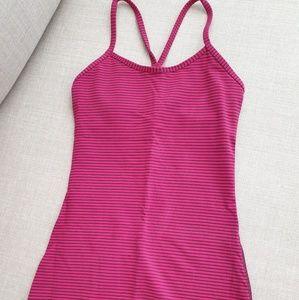 Lululemon Power Y Tank (pink)